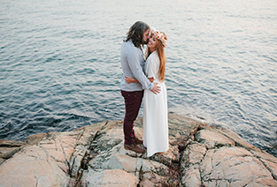 Vancouver Bohemian Engagement Session  //  Lighthouse Park  //  Whitney + Graeme